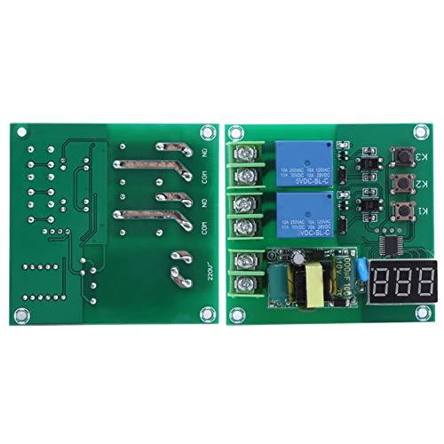 KUIDAMOS Módulo de relé Controlador de Interruptor de retardo de 1 a 999 Segundos para plástico electromagnético