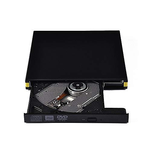 FOWYJ Multi-Kompatible Externer CD-Laufwerk, Tray-Typ 24X Lese- Und Schreibgeschwindigkeit Von Blu-Ray-DVD-Brenner Kern Geeignet Für Notebook-PC Büroschule