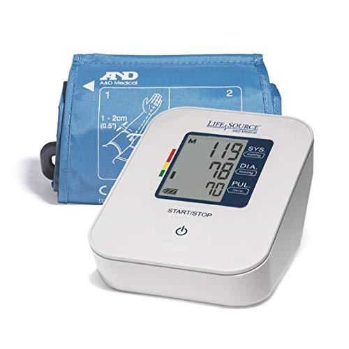 LifeSource Upper Arm Digital Blood Pressure Monitor with Medium Cuff (UA-651CN)
