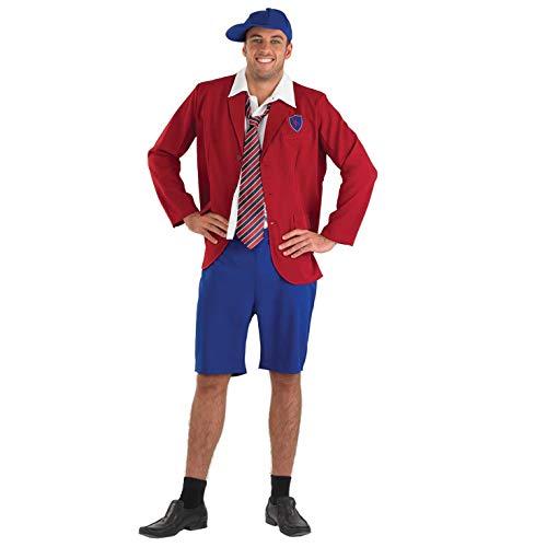 Écolier - Adulte Costume de déguisement - XL - 56-58