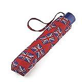 Incognito Paraguas con 4 Banderas del Reino Unido