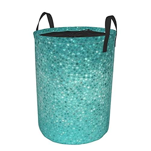 Cesta de lavandería grande,Las baldosas de mosaico de puntos pequeñCesto de ropa...
