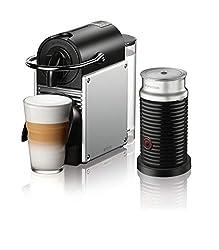 Nespresso Pixie Espresso Machine With Aeroccino Milk Frother