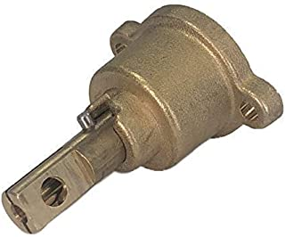 BRASS HEAD CHINESE WOK COOKER HORIZONTAL OUTLET GAS CONNECTION FFD FFV VALVE
