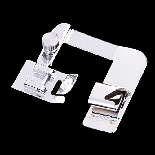 harayaa Prensatelas para Máquina de Coser Doméstica con Dobladillo Enrollado para Rizar - 13mm