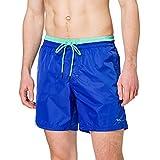 Harmont & Blaine YRF030090280 Costume a Pantaloncino, Blu Elettrico, L Uomo