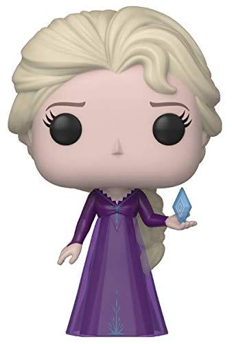 Funko Pop! Disney: Frozen 2 - Elsa in Nightgown with Ice Diamond, Amazon Exclusive