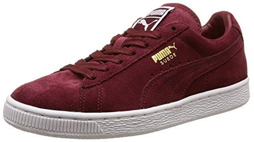 Puma Herren Classic Sneakers, Rouge (Cabernet/White/Team Gold), 40 EU