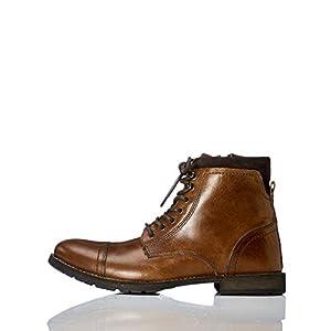 c2d7244a730 JACK & JONES Jfwmarly Leather Cognac, Botas Clasicas para Hombre, Marrón,  46 EU: Amazon.es: Zapatos y complementos