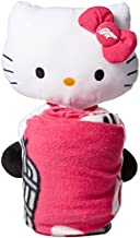 The Northwest Company NFL Denver Broncos Hello Kitty Hugger Pillow & Fleece Throw Blanket Set, 40