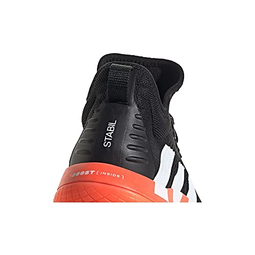 adidas Stabil Next Gen Primeblue M, Zapatillas de Running Hombre, NEGBÁS/FTWBLA/Rojsol, 44 EU