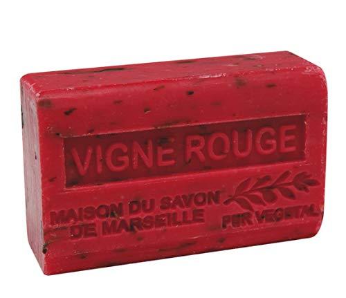 Provence Seife Vigne Rouge (Rotes Weinlaub) - Karité 125g