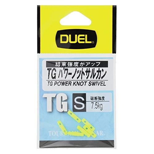 【10%OFF】DUEL(デュエル)磯・小物TGパワーノットサルカンSIYH2519-IY-インパクトイエロー磯釣り