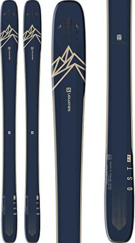 Salomon QST 99 Skis Mens Sz 167cm Dark Blue