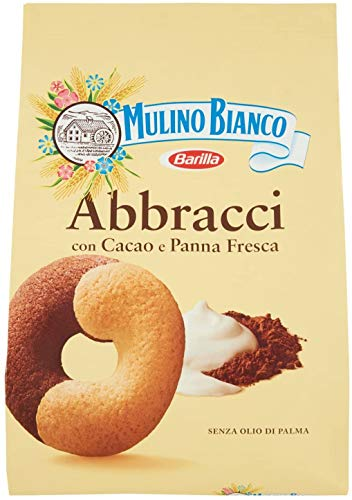 3x Mulino Bianco Kekse Abbracci 350g Italien biscuits cookies kuchen brioche