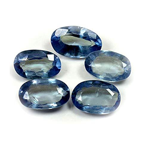 CaratYogi Alessandrite Loose Gemstone Totale 25 carati Lotto 5 Pezzi Creazione di Gioielli Taglio Ovale per Pietra curativa