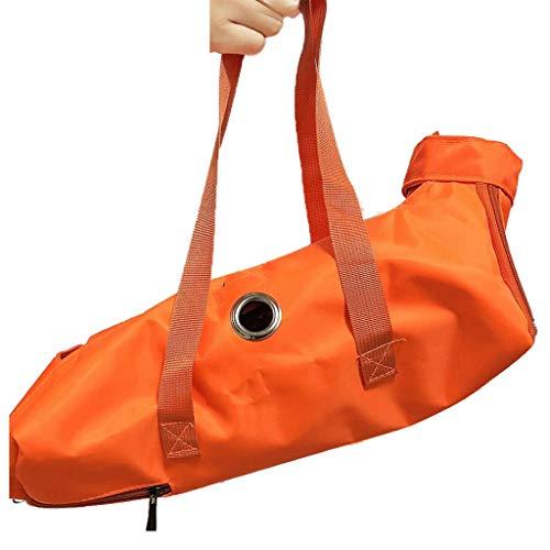 Sac pour animaux Pet Box Multi-Fonction Respirant Cage Chat Et Chien Portable Voyage De Transport De Voiture en Consignation 4 Couleurs Liuyu. (Color : Orange, Size : 42 * 25cm)