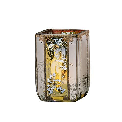 Goebel Windlicht, Glas, Bunt