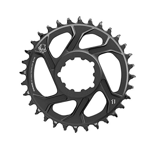 Sram X-Sync 2 Direct Mount 3mm Offset Boost Cold Forged Aluminum, Corona. Unisex-Adulto, Nero, 30t