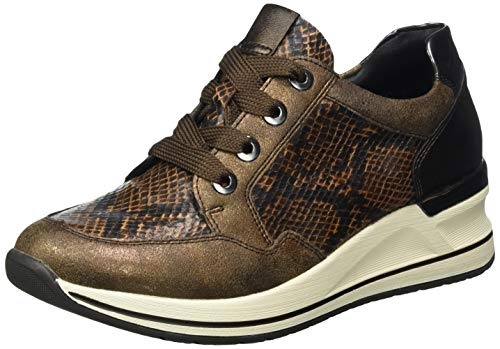 Remonte Damen D3206 Sneaker, Antik/Schoko/Antik/Mokka/ 25, 41 EU