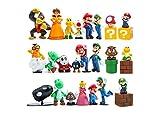 JoySee 28 Pcs/Set Super Mario Bros Super Mary...
