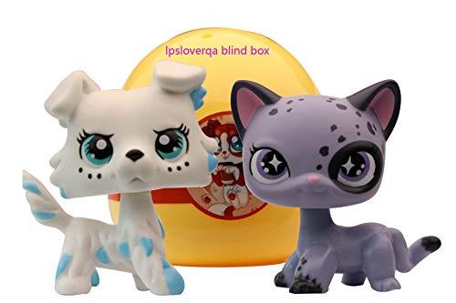 lpsloverqa Blind Box Bobble- Head Lucky Pet and Surprise Accessories Lot Children Boys Girls Xmas Birthday Gift 1 PC