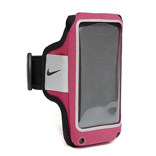 Nike lichtgewicht armband voor volwassenen, telefoonhoes, roze/zwart, één maat
