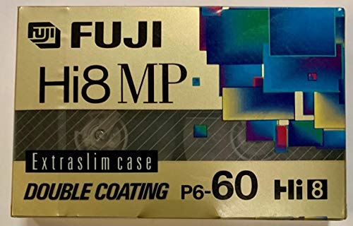 Great Price! FUJI P6-60 MP DS 8mm Video Cassette
