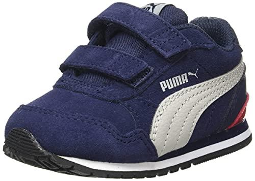 Puma ST Runner v2 SD V In, Zapatillas de Running, Peacoat-Gray Vi, 27 EU