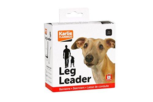 Karlie legleader® L: 39 - 60 cm Ha um: 85 cm schwarz
