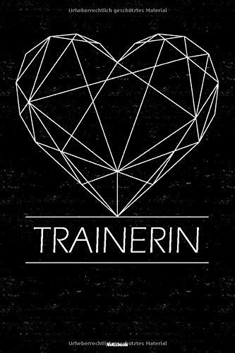 Trainerin Notizbuch: Trainerin Journal DIN A5 liniert 120 Seiten Geschenk