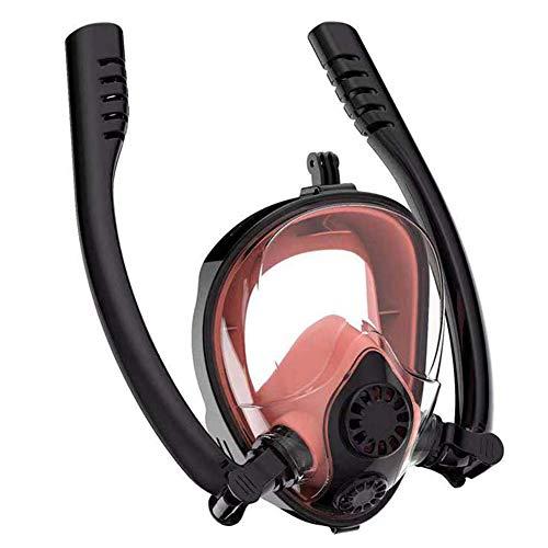 Warm Room duikmasker, duikmasker onderwater anti-fog volgelaatsmasker snorkelen vrouwen mannen kinderen zwemmen snorkel duikuitrusting
