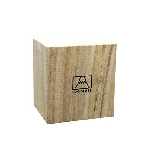 Cerveza Vaso de Agua Vaso de Whisky Vaso de Cristal Vaso con Forma Especial Vaso retorcido Ins Wind Tazas Creativas de Estilo japonés - Caja de madera-1pc