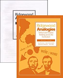 Ridgewood Analogies Book 4 (Grade 7) SET -- Book and Answer Key (Critical and Creative Thinking Across the Curriculum)