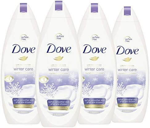 Dove Body Wash To Nourish and Moisturize Dry Skin Winter Care for Softer Smoother Skin After product image
