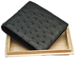 オーストリッチ 無双 紳士用二つ折財布 日本製