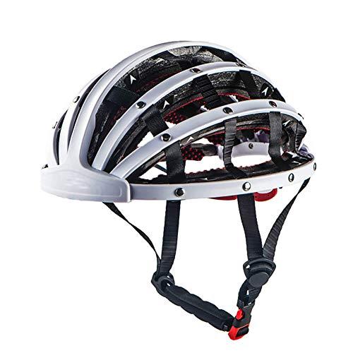 LINGJIA Fahrradhelm Klappbarer Ciclismo MTB Bike Ultraleichter Fahrradhelm Fahrrad Capacete De Bicicleta Bici Casque Ausrüstung