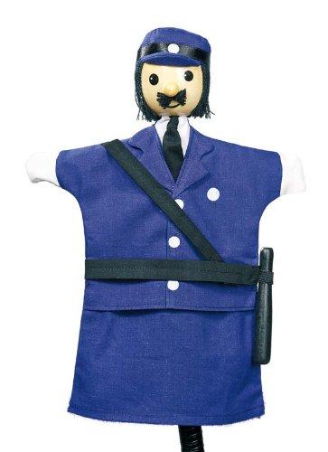 Goki 51994 - Handpuppe Polizist