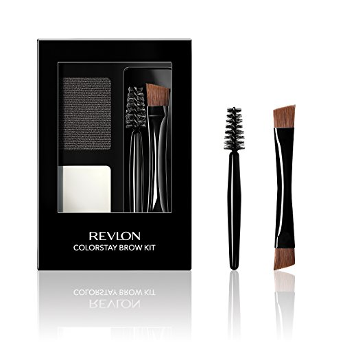 Revlon ColorStay Eyebrow Kit 101 Soft Black - .08 fl oz