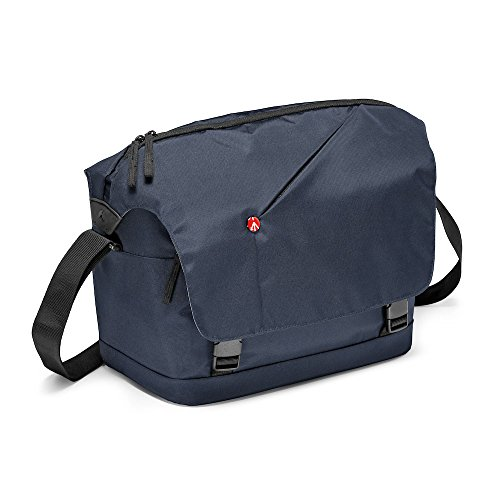 Manfrotto MB NX-M-IBU Messenger Bag for DSLR with Additional Lens & Personals (Blue)