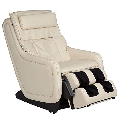 Human Touch ZeroG 5.0 Massage Chair w/ 5-Year Extended Warranty (Cream)