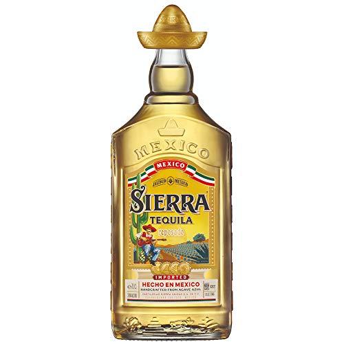 Sierra Tequila Reposado - Echter mexikanischer Tequila aus Jalisco (1 x 0,7l) - 9 Monate in Bourbon Fässern gereift