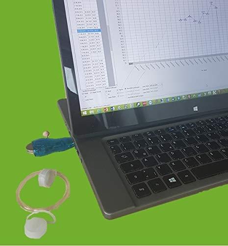 iButton Basalthermometer für natürliche Verhütung oder Kinderwunsch -symptothermale AG NFP Regeln zur Eisprung-Bestätigung werden angewendet, USB-OTG Set Android App/Windows oder Mac erforderlich
