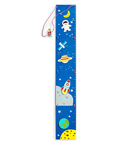 Mousehouse Gifts - Medidor de crecimiento para niño y niña - Temática astronauta