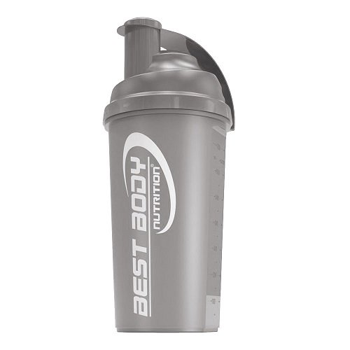 Best Body Nutrition Edition Shaker, 700ml, negro (Black steel)