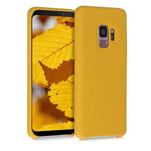 kwmobile Custodia Compatibile con Samsung Galaxy S9 - Cover in Silicone TPU - Back Case per Smartphone - Protezione Gommata Miele