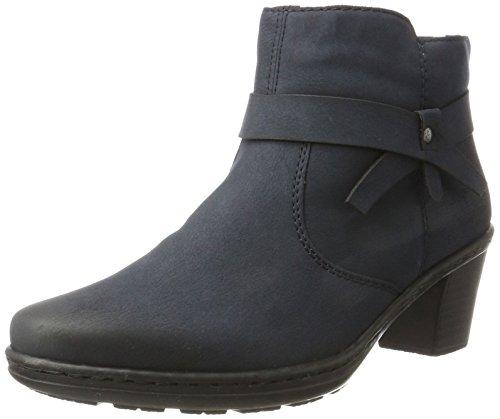 Rieker Damen 54983 Stiefel, Blau (Pazifik 14), 39 EU