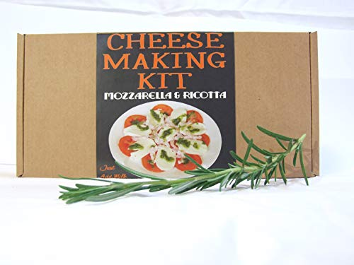 Cheese Making KIT Authentic Italian Mozzarella & Ricotta=Great Gift=Make Your Own Cheese