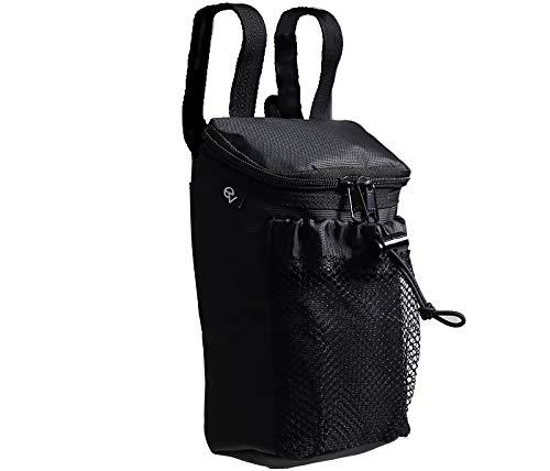 Ev (イブ) 撥水松葉杖バッグ ロフストランドクラッチ専用 黒