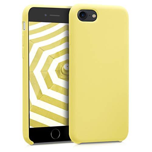 kwmobile Cover Compatibile con Apple iPhone 7 8   SE (2020) - Cover Custodia in Silicone TPU - Back Case Protezione Cellulare Giallo